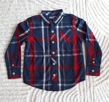 Arozona Jean Co Plaid Long Sleeve Shirt