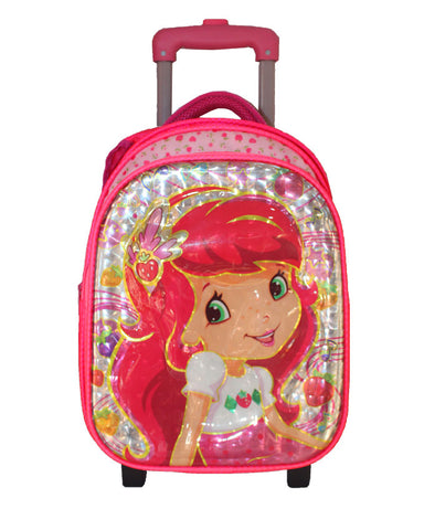 Strawberry Shortcake Character Trolley bag with Lunch Bag