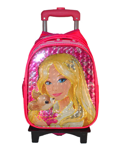 Princess Character Trolley bag with Lunch Bag