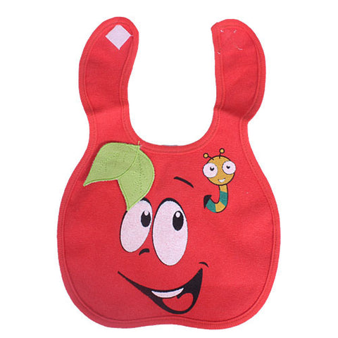 Red Fruit Dribble Bib