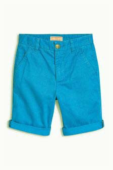 Next Chino Shorts - Blue