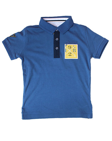 Ette 1892 Blue Polo Shirt