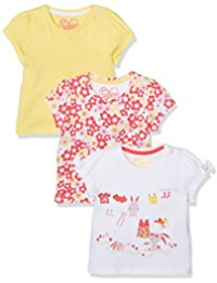 Mothercare 3 Pack Floral Short Sleeve Tops