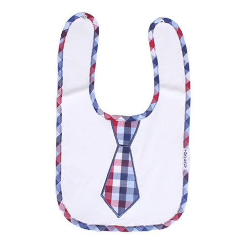 Plaid Dress Up Bib
