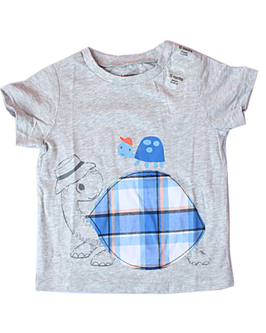 1st Impressions Turtle Applique Tee Shirt
