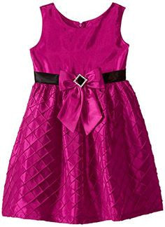 Jayne Copeland Fuchsia Diamond Taffeta Dress - uniquechildren