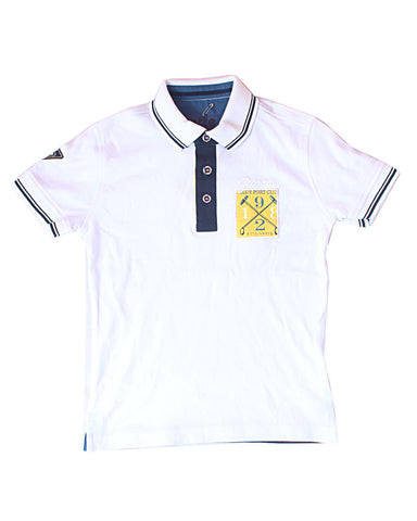 White 1892 Polo Shirt