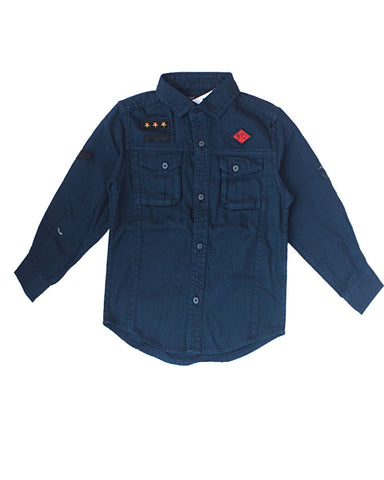 Next denim dark blue shirt