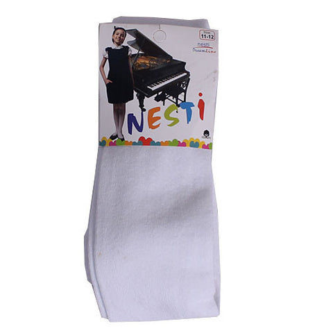 Nesti White Pop Socks