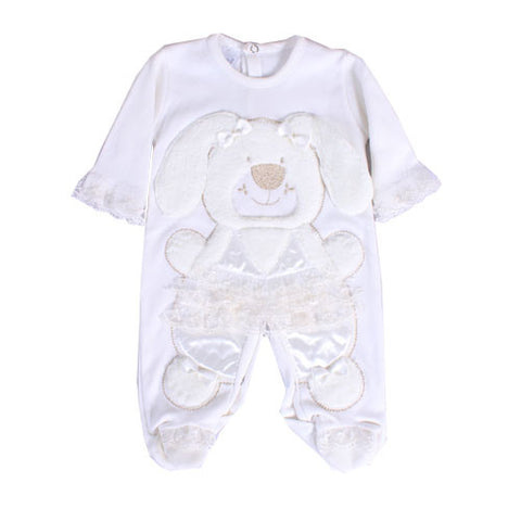 Girl Jump Suit with Teddy Design