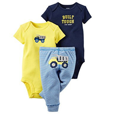 Carter's 3pc Built Tough Like Daddy Pants Set