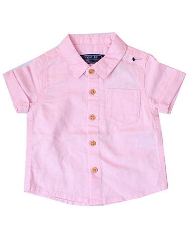 Next pink short sleeve shirt