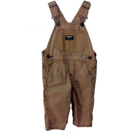 Oshkosh Corduroy Brown Bib Overall - uniquechildren