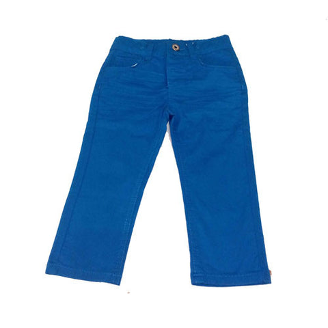 Blue Five Pocket Girl Trousers