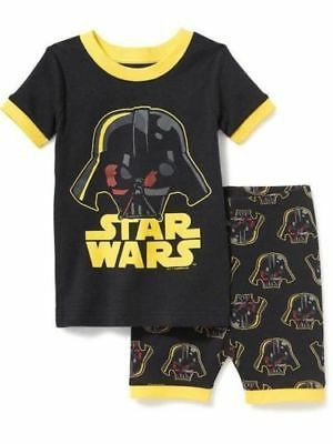 Old Navy Star Wars Short Sleeve Tee & Short Leg Pyjamas Set