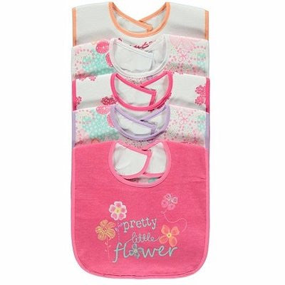 George Pretty Little Flower 5 in 1 Bibs