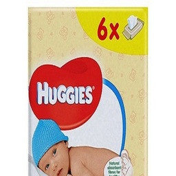 Huggies Pure Baby Wipes 56 x 6 - uniquechildren
