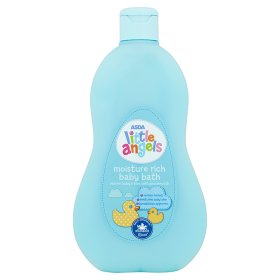 Asda Little Angel Moisture Rich Baby Bath (500ml)