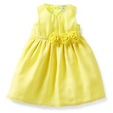 Carter's Yellow Ball Dress