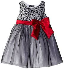 Youngland Special Occasion Dress - Grey/Red