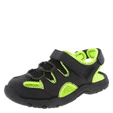 Champion Lemon Black Fisherman Sandals US Toddler 8