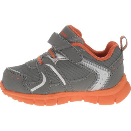 Garanimals Infant Athletic Lightweight Sneaker - Gray/Orange