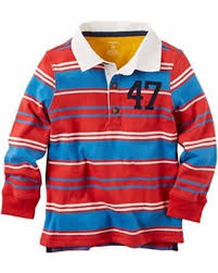 Carter's Long Sleeve Rugby Shirt