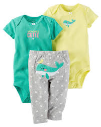 Carter's Mommy's Cutie Bodysuits and Pants Set