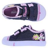 Girls' Minnie Double-Strap Kicks, Denim