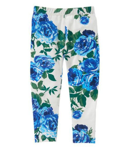 Crazy8 Blue Rose Leggings
