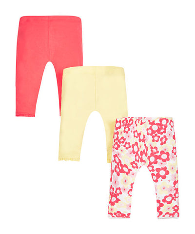 Mothercare Floral Crop Leggings