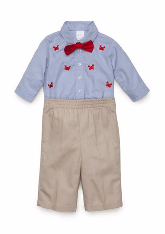 Nursery Rhyme Bodysuit Shirt and Pants Set