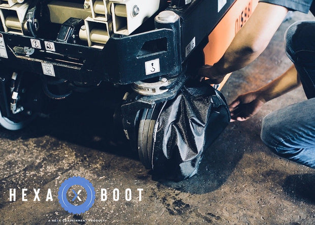 Hyster S100FT Boots Socks Catch Drip Protection Diapers