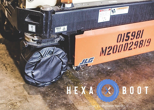 HEXA Surface Protection For Caterpillar TL642D (Opt Tires)