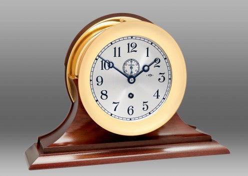 Featured Gift, Chelsea Harbour Master 16E Clock on Traditional Base