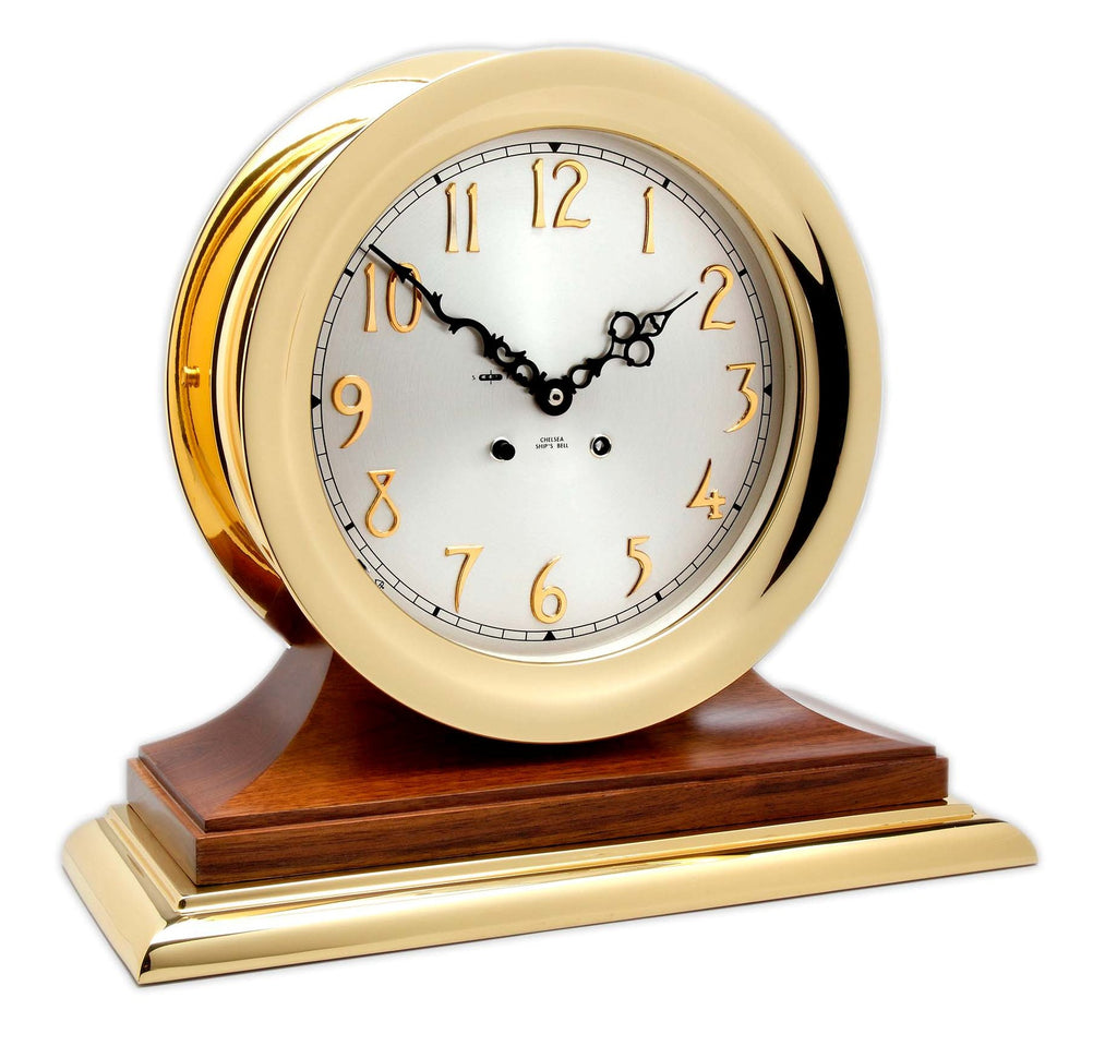 Chelsea Andover Classic Ship's Bell Clock, On Sale Now!