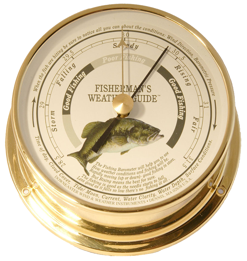 Featured Product: Downeaster Fishing Barometer, Freshwater