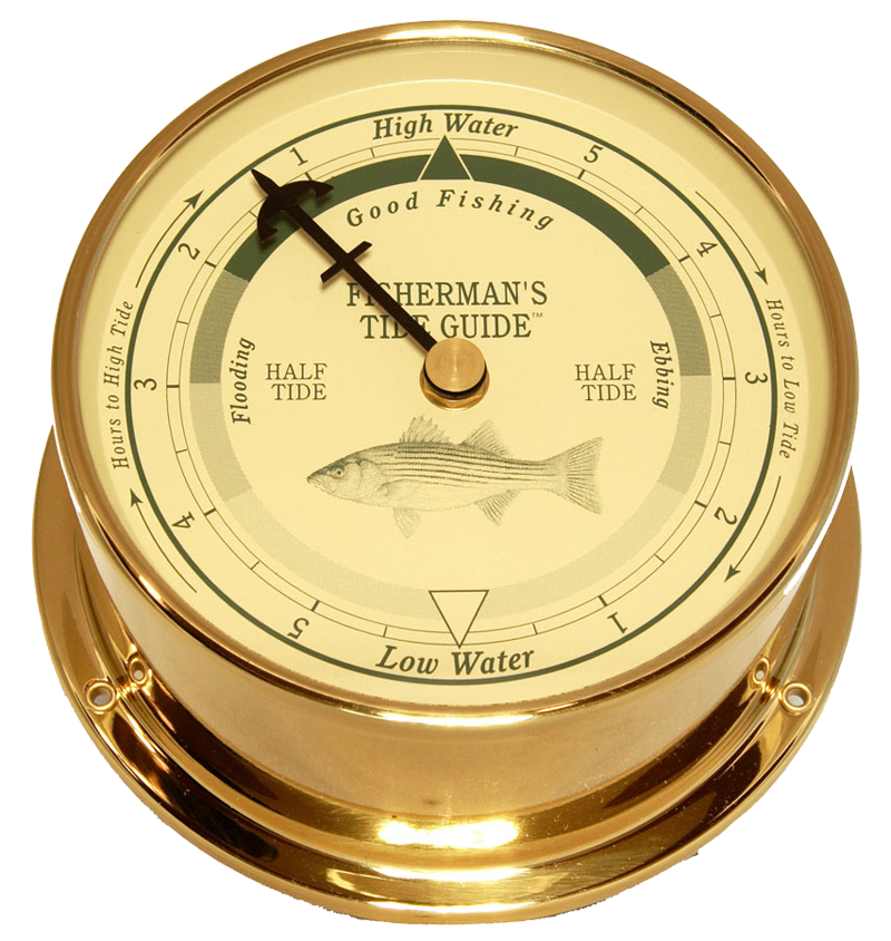 Downeaster Fishing Tide Clock, On Sale Now!