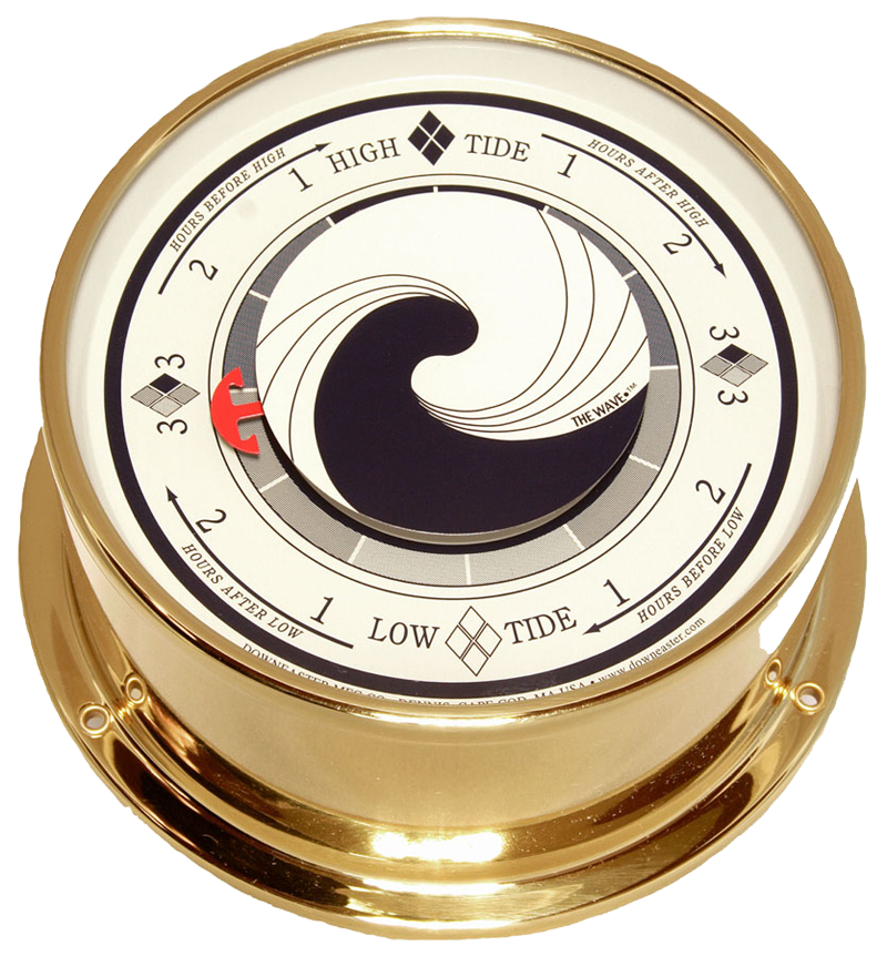 "Downeaster ""The Wave"" Tide Clock, On Sale Now!"