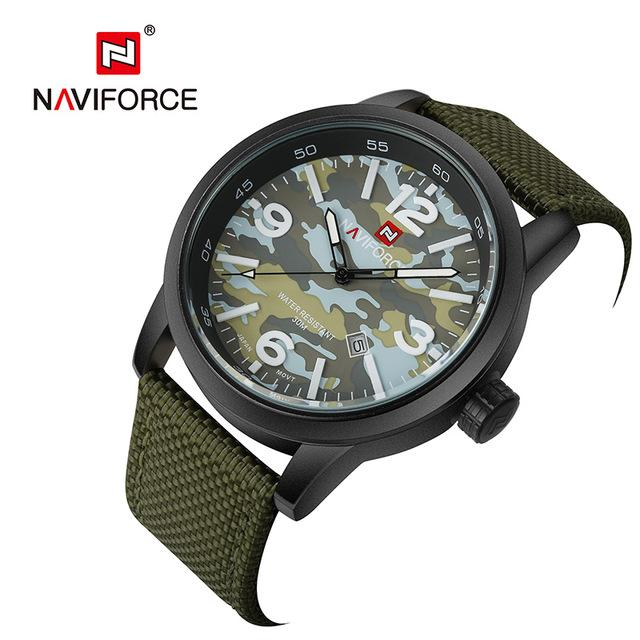 NAVIFORCE Men's Military Cammo Watch, NF9080, NEW and ON SALE NOW!
