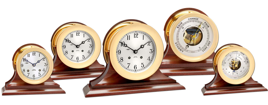 Chelsea Ship's Bell Clocks and Barometers on Sale Now!