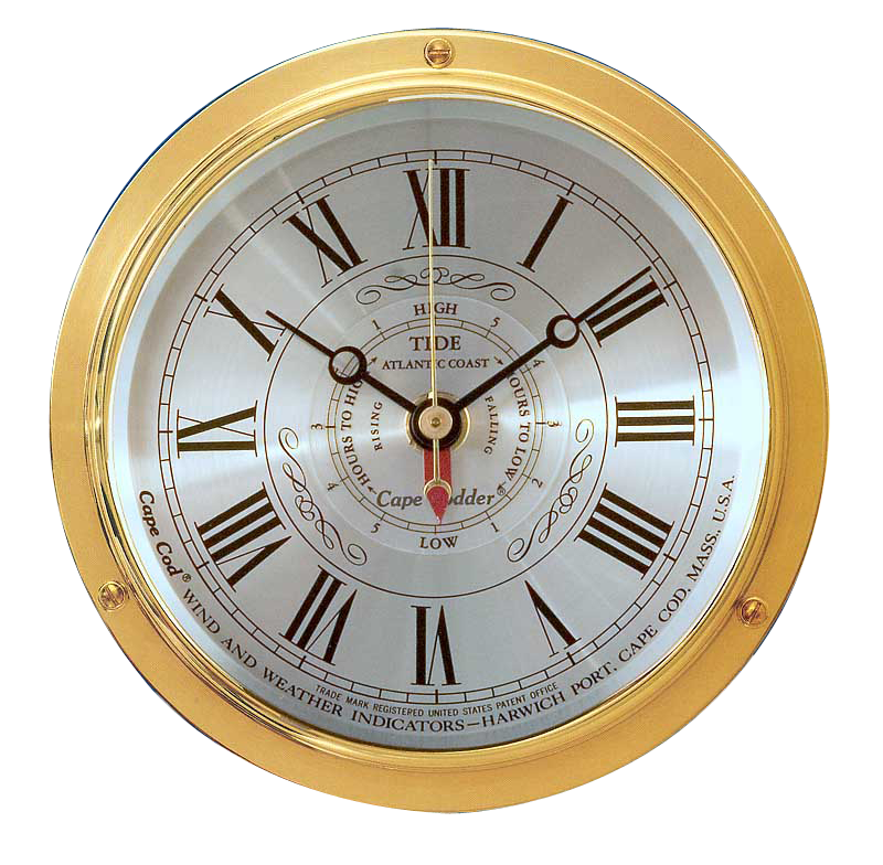 "Cape Cod ""Cape Codder"" Tide Time Clock, On Sale Now"
