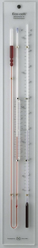 CYBER MONDAY SALE, D&D Barometers Eco Celli Liquid Barometer Thermometer