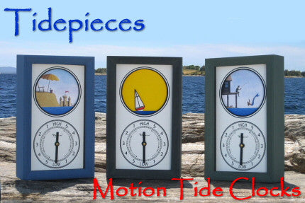 Tidepieces Animated Tide Clocks on Sale now!