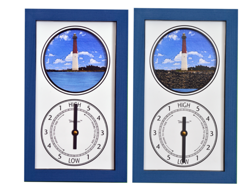 Featured Gift: Tidepieces Barnegat Bay Light Tide Clock