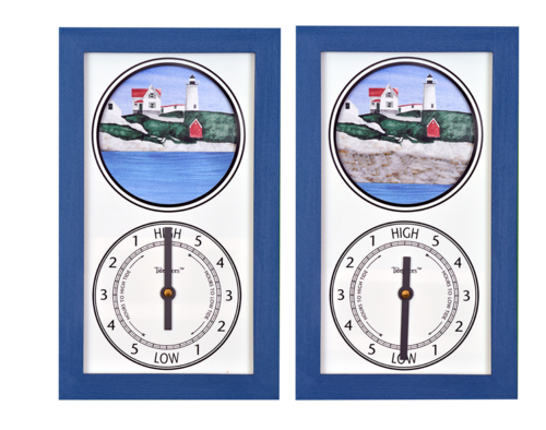 "Tidepieces Cape Neddick ""Nubble"" Light Tide Clock - On Sale Now!"