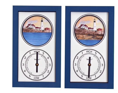 Portland Head Light Tide Clock by Tidepieces - On Sale Now!