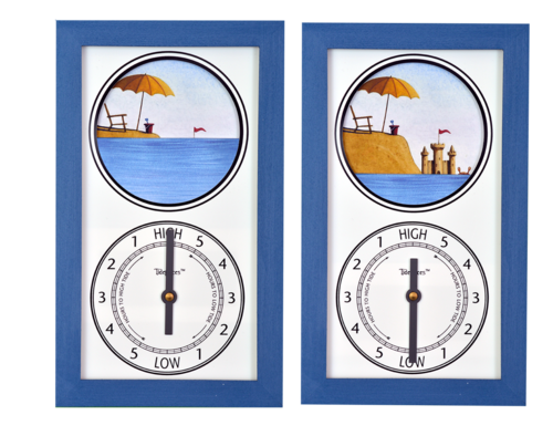 Featured Gift: Tidepieces Sandcastle Tide Clock - SALE PRICE!