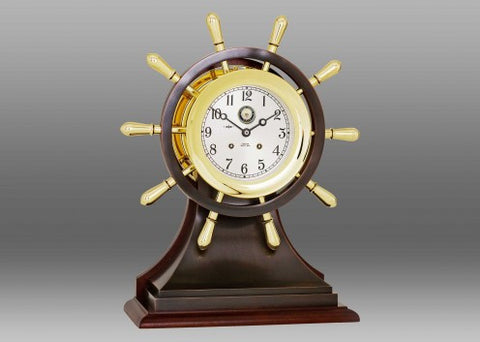 Chelsea U S Navy Mariner Limited Edition Ship's Bell Clock - BellClocks.com