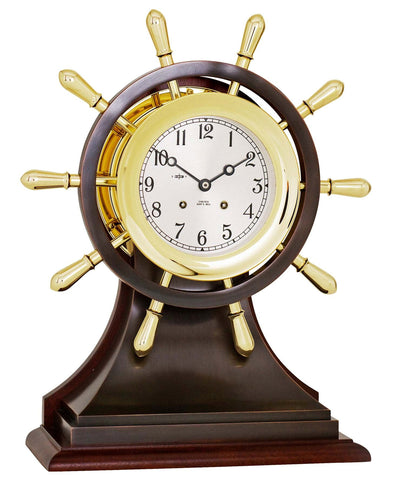 Chelsea Mariner Limited Edition Ship's Bell Clock - BellClocks.com